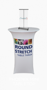 Phoenix Mini Table Top Banner Shield